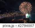 (静岡県)熱海100万ドルの夜景と海上花火 42794007