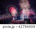 (静岡県)熱海100万ドルの夜景と海上花火 42794009