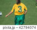女子サッカー選手 42794074