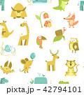 シームレス パターン 柄のイラスト 42794101