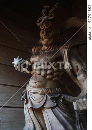 札幌・曹洞宗専門僧寺・中央寺の吽形仁王像 42794302