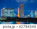 東京の夜景 東京タワー 42794340