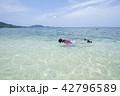 海と子供 リゾート 42796589