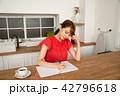台所 女性 キッチンの写真 42796618