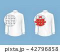 シャツ Yシャツ 服のイラスト 42796858
