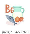 ビタミン ヘルシー オーガニックのイラスト 42797660
