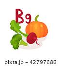 ビタミン ヘルシー オーガニックのイラスト 42797686
