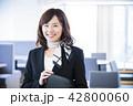 ビジネス 受付 オフィス 女性 ビジネスマン 42800060