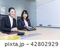 ビジネスウーマン 女性 ビジネスの写真 42802929