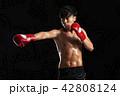 ボクシング ボクサー キックボクサーの写真 42808124