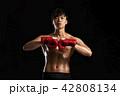 ボクシング ボクサー 男性の写真 42808134