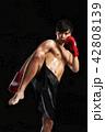 ボクシング ボクサー 男性の写真 42808139