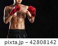 キックボクシング 42808142