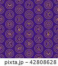 仮想通貨 パターン 模様のイラスト 42808628