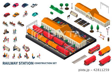Railway Station Construction Set 42811259