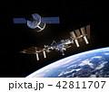 宇宙 ドッキング ぎんがのイラスト 42811707