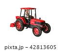 トラクターと男性 42813605