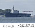 護衛艦「いずも」 【神奈川県】 横須賀港航行中 42813713