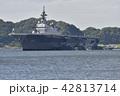 護衛艦「いずも」 【神奈川県】 横須賀港航行中 42813714