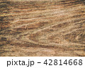Close up rustic wood table with grain texture in v 42814668