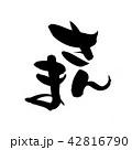 筆文字 文字 さんまのイラスト 42816790