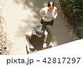 男女 ランニング ジョギングの写真 42817297