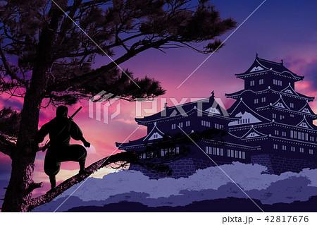 忍者と城イメージ 42817676