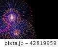 打ち上げ花火 花火 花火大会の写真 42819959
