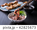 イカの塩辛と日本酒 42825673