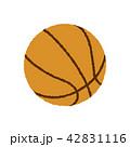 バスケットボール イラスト(手書き風ラフタッチ) 42831116