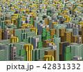 都市 都市景観 都市風景のイラスト 42831332