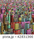 都市 都市景観 都市風景のイラスト 42831366