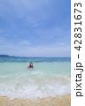 海と子供 リゾート 42831673