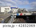 いわき駅前を行く新常磐交通 42832069
