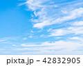 空 快晴 晴れの写真 42832905