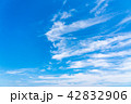 空 快晴 晴れの写真 42832906