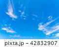 空 快晴 晴れの写真 42832907