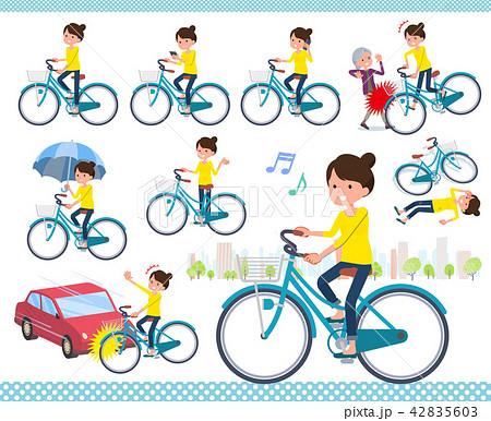 flat type Bun hair mom_city cycle 42835603