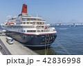 にっぽん丸 横浜港 停泊の写真 42836998