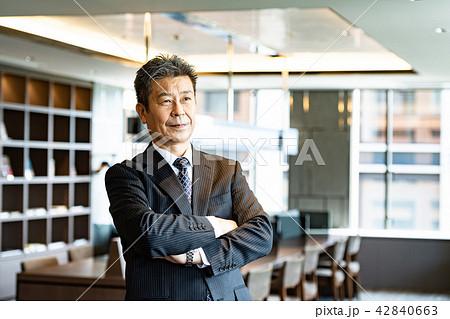 ビジネスマン、社長、経営者イメージ 42840663