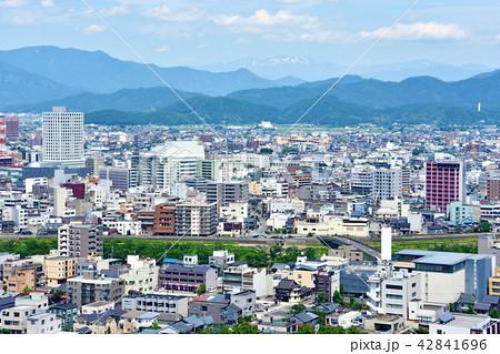 福井市 風景【白山 駅東口方面】 42841696