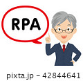 RPA 社長 吹き出しのイラスト 42844641