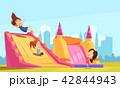 Bouncy Castle Flat Composition 42844943