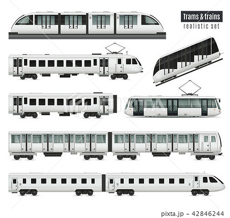 Trams And Trains Set 42846244