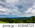 関東平野 山 風景の写真 42848725