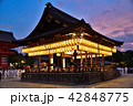 八坂神社 夜 舞殿の写真 42848775