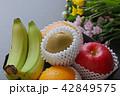 果物 花 お供えの写真 42849575