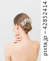ビューティー ウェディング 女性の写真 42852414