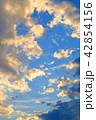 雲 空 夕方の写真 42854156