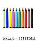 カラフル 多彩 色とりどりのイラスト 42865038